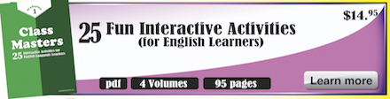 Books full of fun english lessons