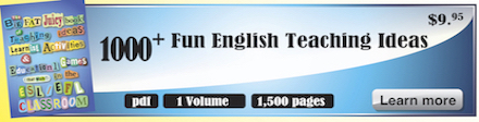 Download English worksheets and English lesson plans